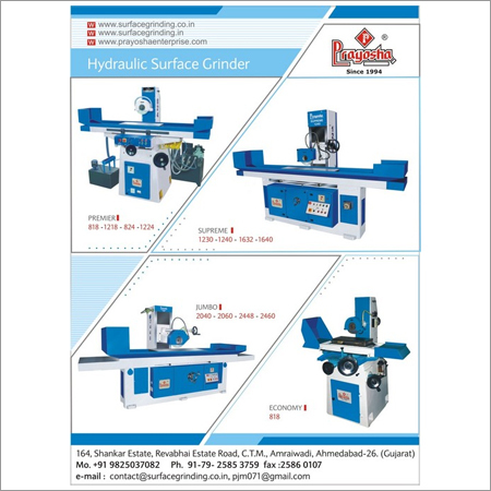 Precision Surface Grinding Machine