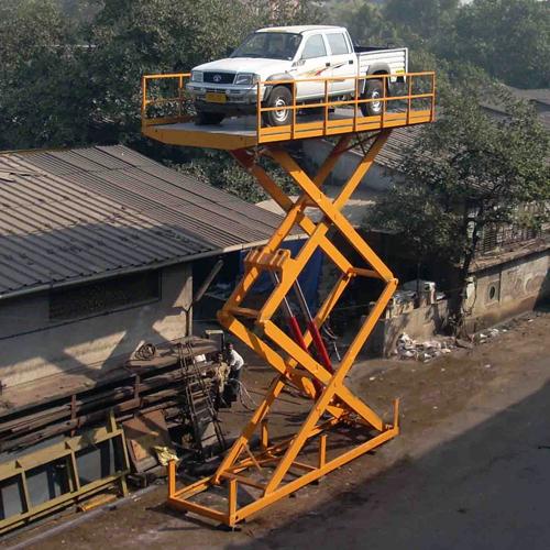 Double Scissor Car Lift
