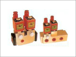 4 Way 5 Ports 2 Position Double Solenoid