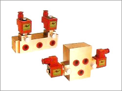 4 Way 5 Ports 3 Position Double Solenoid