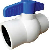 Solid Ball Valve (White)