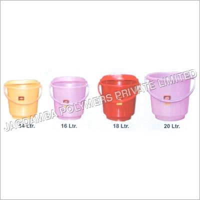 Plastic Plain Buckets