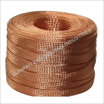 Flat Braided Flexible Copper Wire