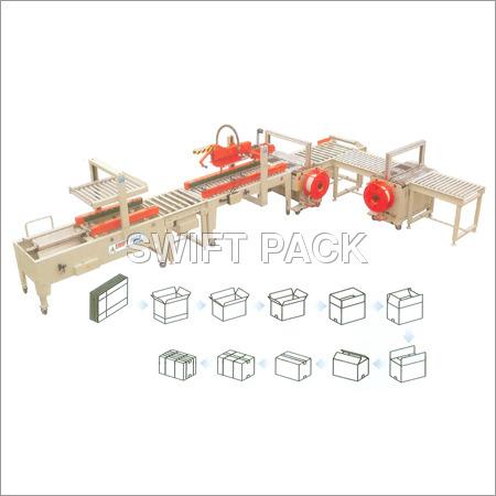 Carton Sealer Auto Packing Line
