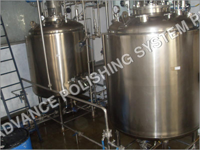 SS High Pressure Vessel