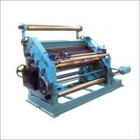Oblique Type Single Face Corrugation Machine