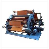OBLIQUE TYPE SINGLE FACE CORRUGATION MACHINE