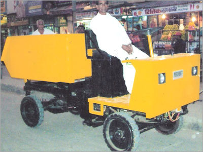 Battery Operated Dumper