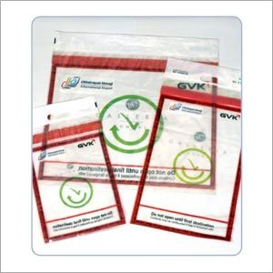 Polyethylene Security Tamper Evident Bag