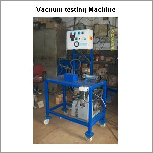 Vacuum Testing Machine