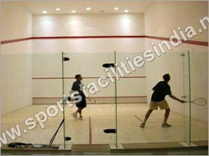 Squash Glass Court