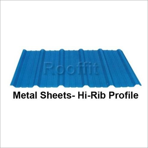 Metal Sheets Hi Rib Sheets