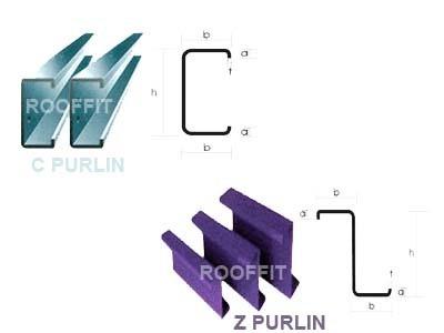 Z & C Purlins