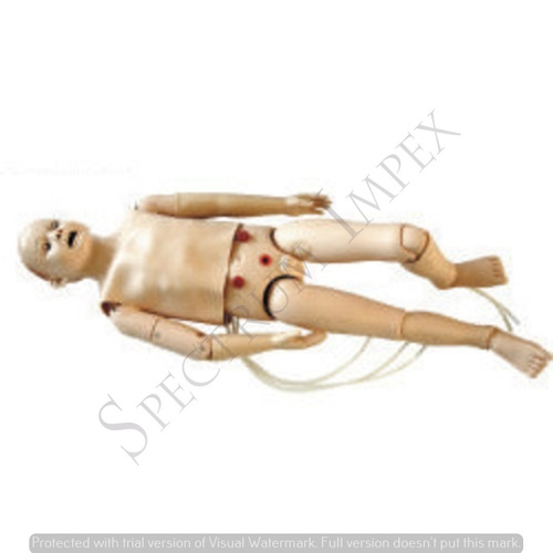 Full-Functional Child CPR and Nursing Manikin 5 yr