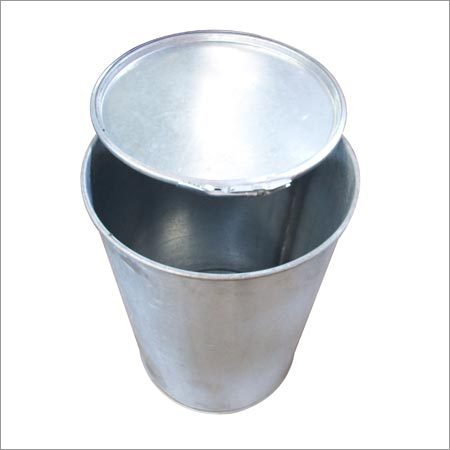 Stainless Steel Plain Drums