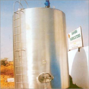 Vertical Milk Storage Silo