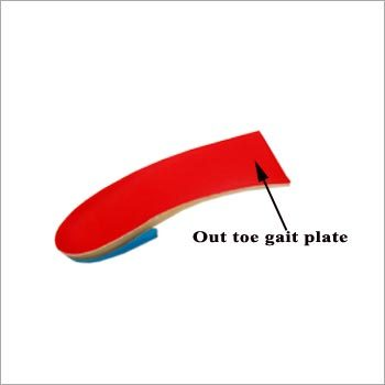 Out Toe Gait Plate
