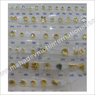 Semi Brass Bead Caps