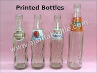 Printed Glass Bottle