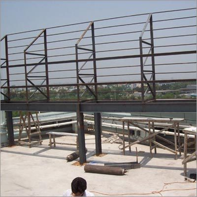 Shade & Signage Iron Structure Fabrication