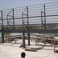Shade & Signage Iron Structure Fabrication