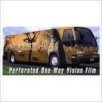 One Way Vision Film