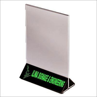 Acrylic Signage Product