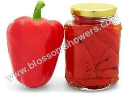 Processed Red Bell Pepper
