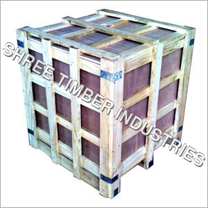 Industrial Wooden Crates