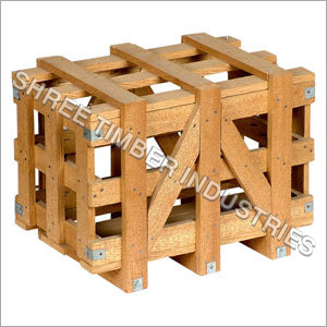 Small Wooden Packaging Crate