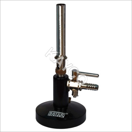 Bunsen Burner with Stop Cock.