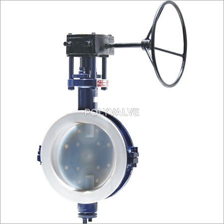 Pvdf lined Butterfly Valves