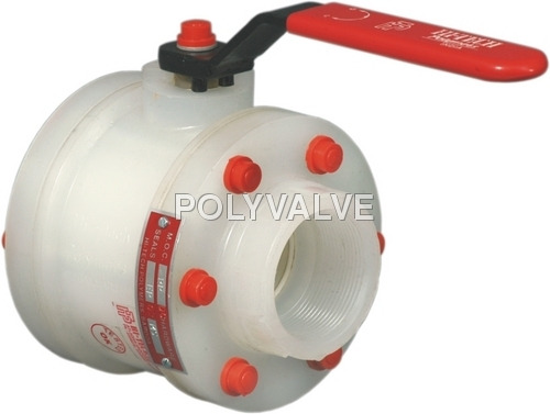 Pvdf threaded End Ball Valve