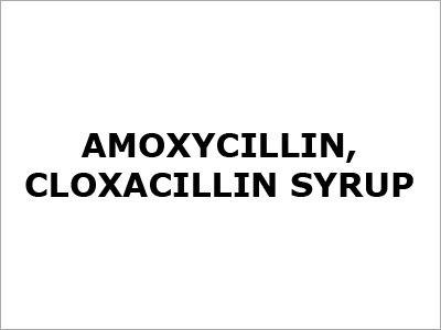 Amoxycillin Cloxacillin Syrup