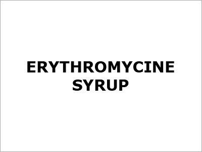 Erythromycin Syrup