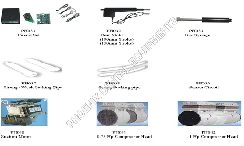 Dental Chair Spares