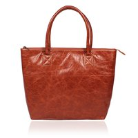 Designer Leather Tote