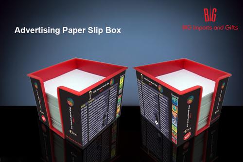 Advertising Slip Box