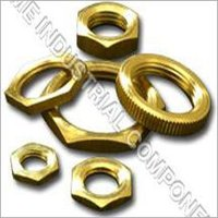 Brass Thumb Round Nut