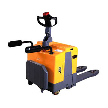 Electric Stand on Hydraulic Pallet Truck