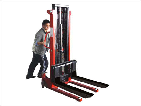 Hand Operated Hydraulic Stacker