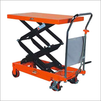 Hand Operated Hydraulic Double Scissor platform