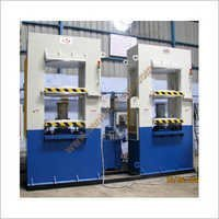 Heavy Duty Flap Moulding Press