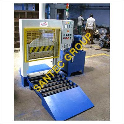 Rubber Bale Cutter Machine