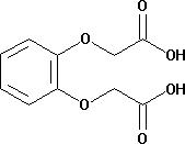 Phenylenedioxydiacetic acid