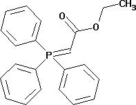 Ethoxycarbonylmethylene- triphenylphosphorane