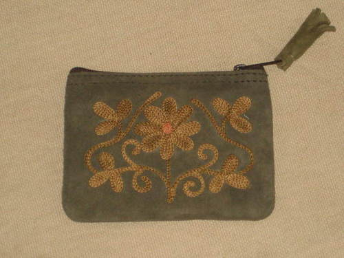 Suede Embroidery Bags