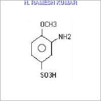 Para phenylenediamine ortho sulphonic acid
