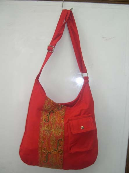 Red Canvas Bags