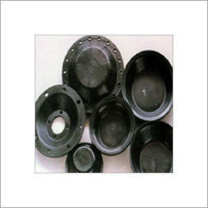 Custom Molded Rubber Diaphragm